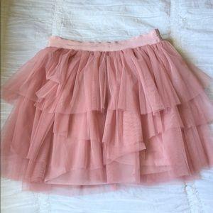 Nasty Gal Carrie Bradshaw Pink Tutu Skirt S